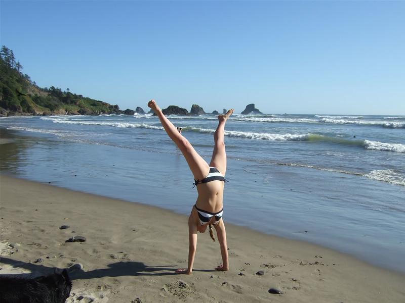 Tracy Mcfarlane - Indian Beach, Ecola State Park, Cannon Beach, Oregon
