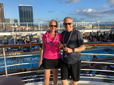 "Cruise # 61- ""Hawaiian Islands"" Cruise onboard Norwegian's ""Pride of America""- September, 2018"