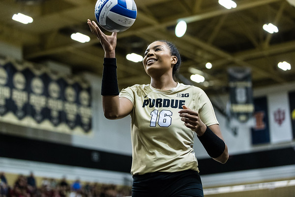 Purdue Volleyball vs U Alabama 2017-8-26
