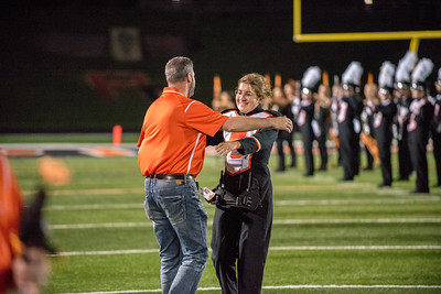 2017 Platte County Band Senior Night