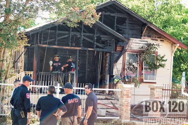 Working Fire - Iowa & Olive St, San Antonio, TX - 7/5/17