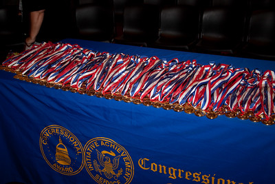 Medals, Congressional Honor for National Service 2011. Corporation for National and Community Service.