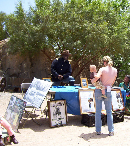ARIZONA BUFFALO SOLDIERS, MESA, AZ...Old Tucson Studios, 70th Anniversary Celebration (Proclamation), Greater Southern Arizona. Buffalo Soldiers of the Arizona Territory - Ladies and Gentlemen.  November 21, 2009