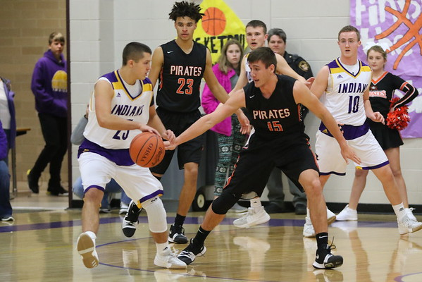 07 Boys Basketball:  Wheelersburg at Valley 2018
