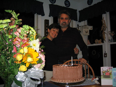 25th Anniversary - Chocolate cake!