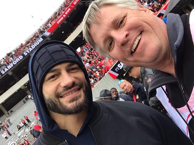 Roman Reigns - Nov 24, 2018 Georgia Tech Fottball Game