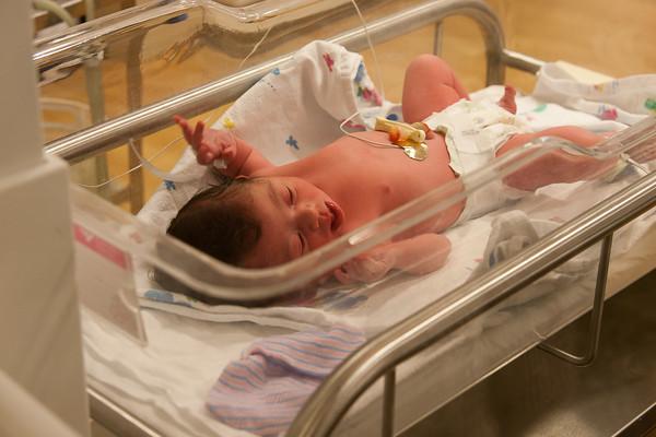 Lily Kate at Birth
