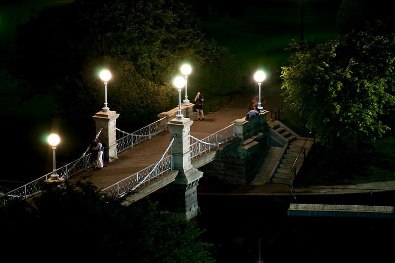The Lagoon Bridge in Night.