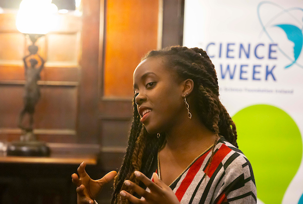 FREE TO USE IMAGE. Pictured during Science Week with WIT (Waterford Institute of Technology) by Calmast at PubHD at The Munster Bar. Pictured is Tatenda Mareya PHD Candidate in Science. Picture: Patrick Browne