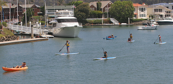 Sail/Kayak Camp, Ventura Harbor 7/23 and 7/25/14