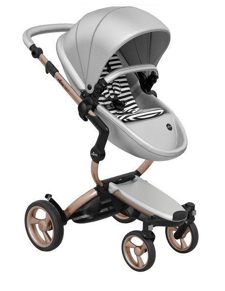 Mima_Xari_Product_Shot_Argento_Rose_Gold_Chassis_Black_And_White_Stripe_Seat_Pod.jpg