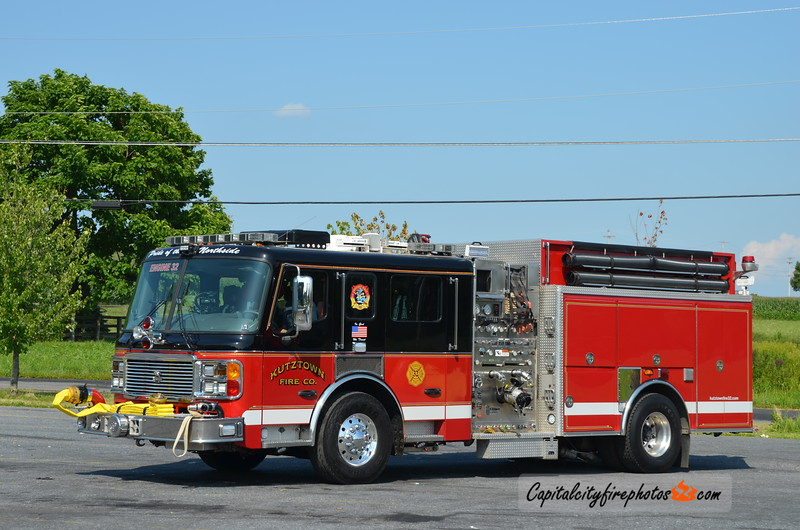 Kutztown Fire Co. Engine 32: 2006 ALF Eagle 1500/1000 (X-Chestnut Ridge, MD)