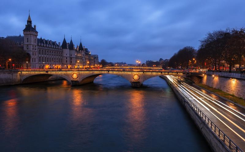 La Conciergerie, Paris, France.