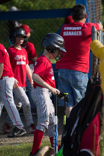 Andover Reds vs. Williamsfield Cubs 6-6-14