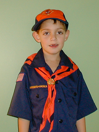 Cub Scouts Danny and Andy