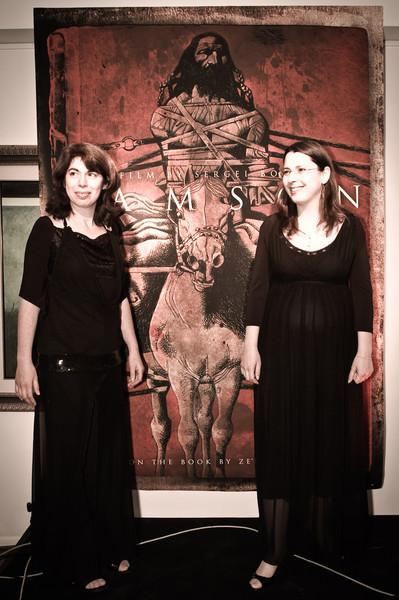 Ilana Nepomniashchy and Vika Rabkin