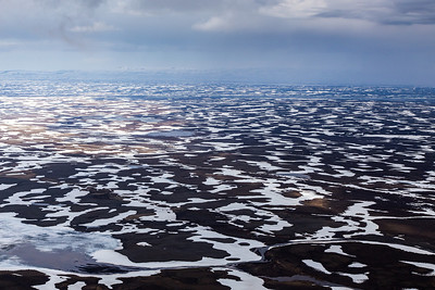 Aerial View of Askja