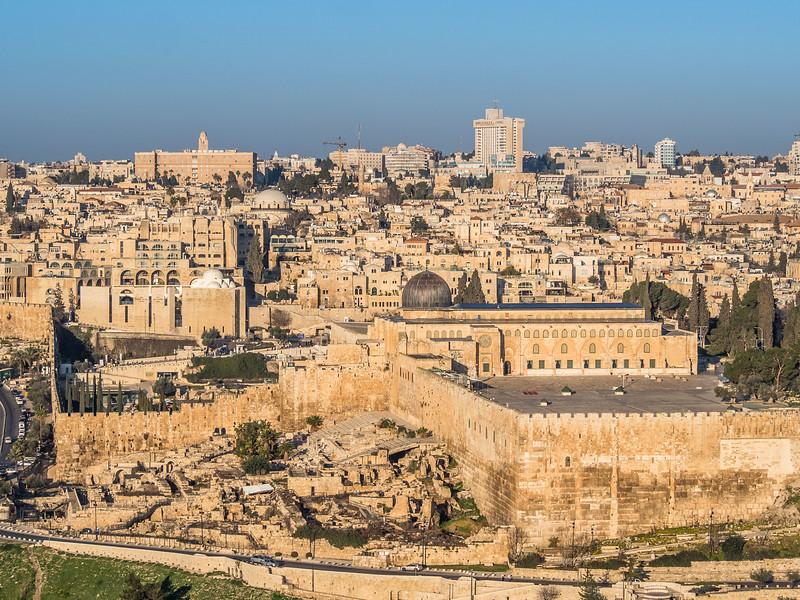 Al-Aqsa Mosque and Temple Mount Excavations, Jerusalem