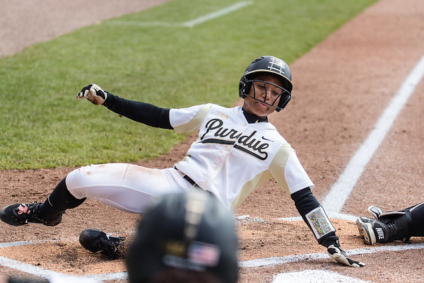 Purdue Softball vs Iowa 2017-4-2  Game 3