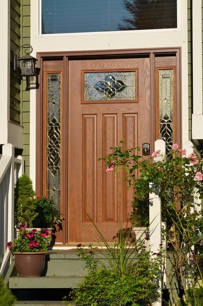 New front door.