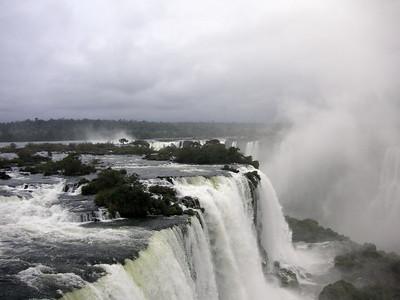 Iguazu from the Brazilian side.