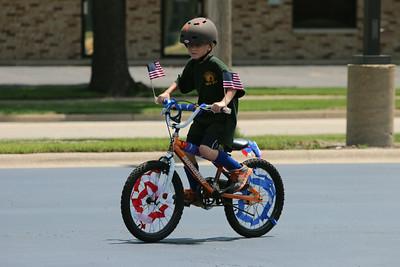 2014 Sugar Grove Fourth of July bike parade