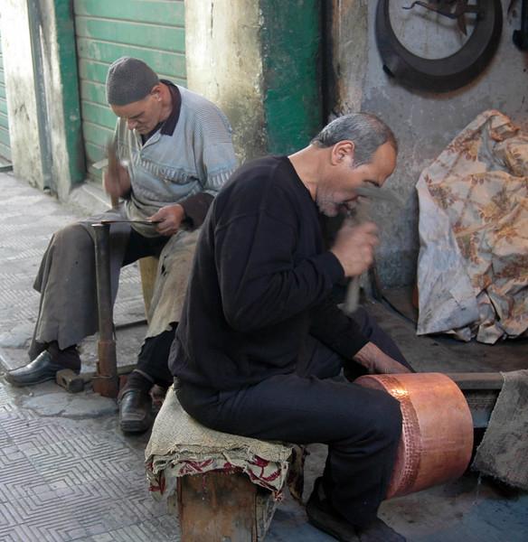 Tripoli: Medina, metal workers