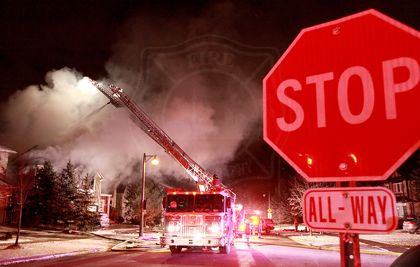 Richmond Hill, ON - Working Fire - 136 Boake Trail - February 01, 2013