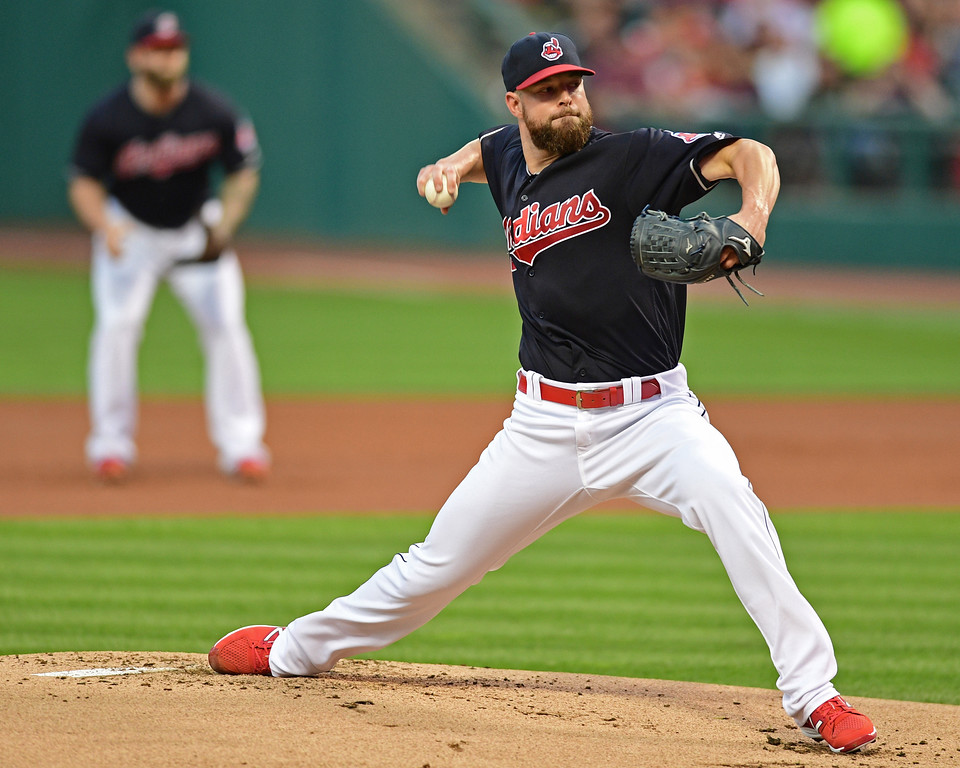 . Another Cy Young-like season from Corey Kluber >> The Tribe�s ace was 18-9 in 2014 when he won the Cy Young Award and 18-9 last year when he finished third in the Cy Young voting. He was 9-16 in 2015 when his run support of 3.324 runs a game ranked 75th of 78 starting pitchers. The potent lineup should be strong enough to make sure that doesn�t happen again. (AP Photo/David Dermer)