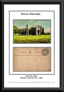 001 - Vintage Postcards - (A - G)