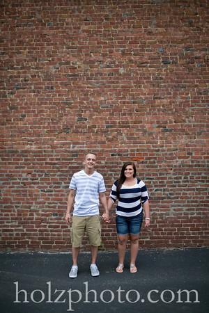 Morgan and David Color Engagement Photos