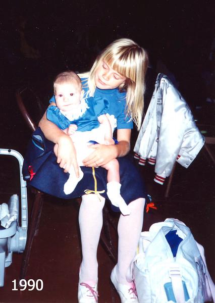 Jennifer and Elizabeth 1990