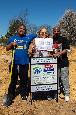Ground Breaking for Habitat House