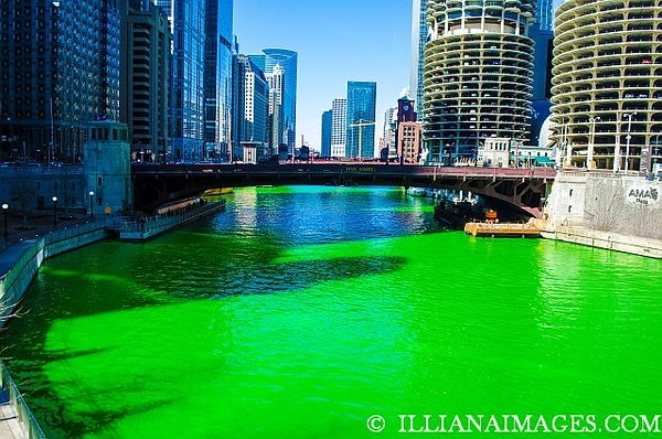 Chicago River St Patricks Day 2018