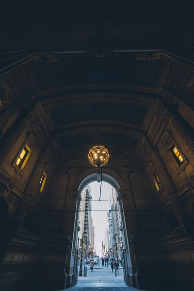 Inside Philidelphia City Hall