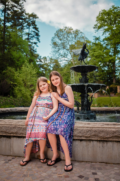 McKenzie - Family Pictures at Duke Gardens