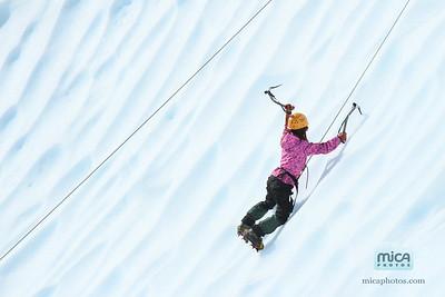 September 4 - Ice Climb with Scott