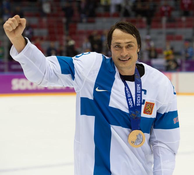 Teemu Selänne and the bronze medal