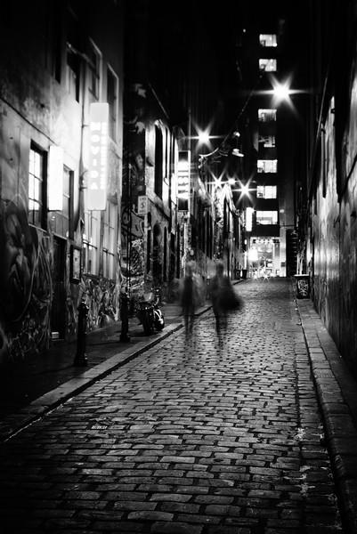 Hosier Lane, Melbourne, Victoria, Australia