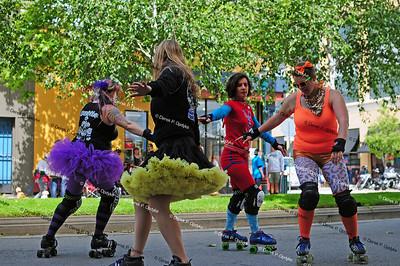 SCDG at Santa Cruz Pride Day - June 5th, 2011