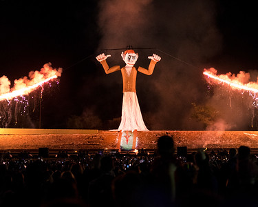 Burning Zozobra - 2017