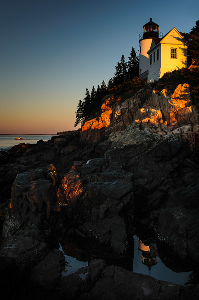08,DA099,DT,Daybreak at Bass Harbor Light, Maine.jpg