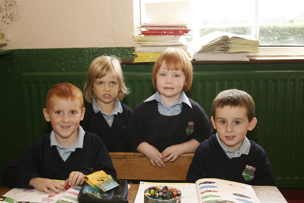 Croghan Nat School new pupils