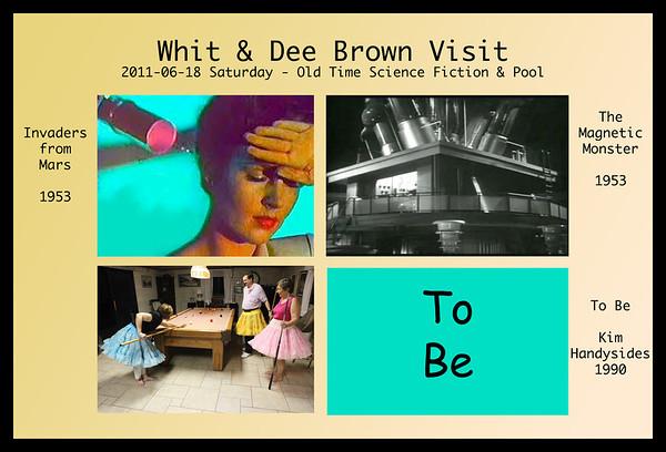 2011-06-18 Whit & Dee Brown Visit