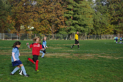 Anabel and Bella Soccer 11/12