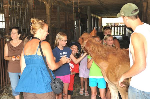 Visit the McGrew Greentop Farm 07-16-11