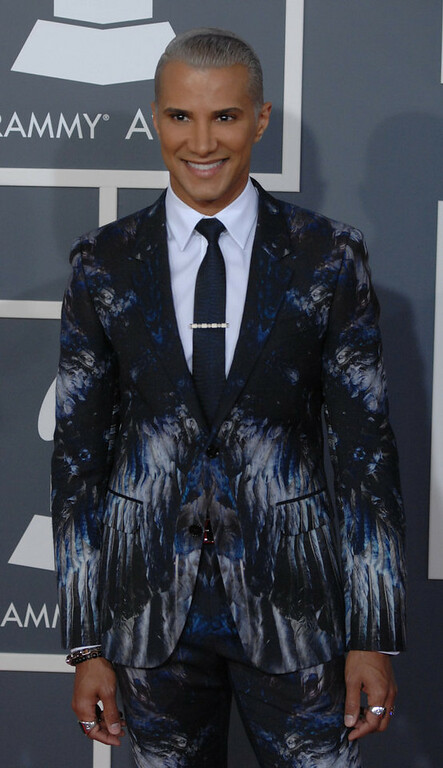 . Jay Manuel arrives to  the 55th Annual Grammy Awards at Staples Center  in Los Angeles, California on February 10, 2013. ( Michael Owen Baker, staff photographer)