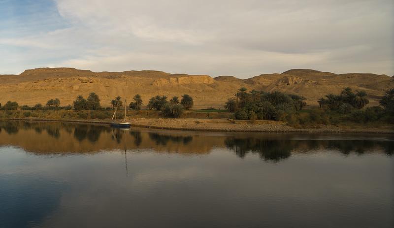 El desierto y el Nilo