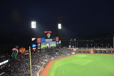 SF Giants vs LA Dodgers 9.13.2017