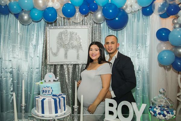Alvaro & Yamileth's baby shower
